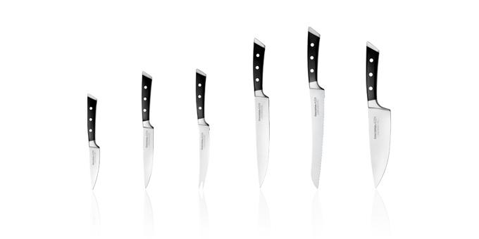 Kvalitní a ostrý nůž nesmí chybět v žádné kuchyni!