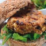 Fazolovo-semínkový burger