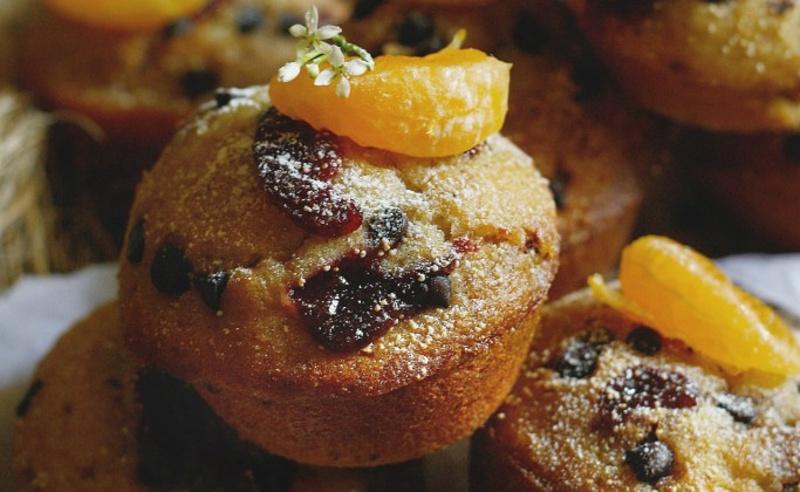 Citrusovo-jogurtové muffiny