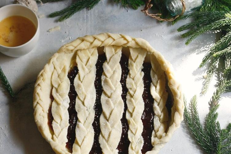 Pletený koláč